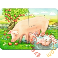 Ravensburger Első Baby puzzle - Aranyos állatok a farmon (07077)