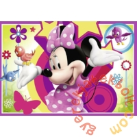 Ravensburger 2 x 24 db-os puzzle - Minnie Mouse - Egy nap Minnie-vel (09047)