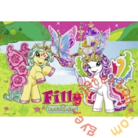 Ravensburger 2 x 24 db-os puzzle - Filly pillangó pónik (09114)