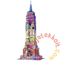 Ravensburger 216 db-os 3D puzzle - Pop Art  Edition - Empire State Building (12599)
