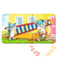 Ravensburger Első Baby puzzle - Állatos építkezés (03074)
