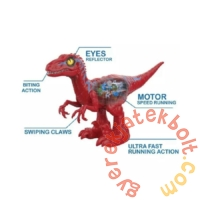 Robo Alive Dühöngő Raptor dinoszaurusz - piros