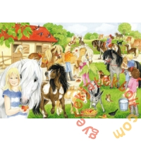 Schmidt 60 db-os puzzle - Fun at the Riding Stables (56205)