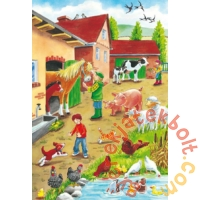 Schmidt 3 x 24 db-os puzzle - On the Farm (56216)