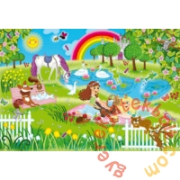 Schmidt 3 x 48 db-os puzzle - Princess in the castle garden (56225)
