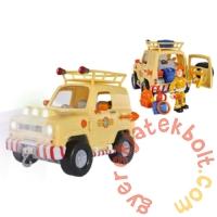 Simba Sam, a tűzoltó - Toms 4x4 terepjáró autó figurával (1001)