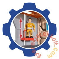 Simba Sam, a tűzoltó - Hegyi mentőközpont játékszett (1003)