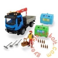 Dickie Konténeres játék teherautó - 29 cm (3836003)
