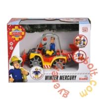 Simba Sam, a tűzoltó - Winter Mercury quad Sam figurával (1049)