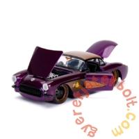 DC Comics - Bombshells fém autómodell - Batgirl figurával - 21 cm