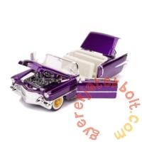 Hollywood Rides fém autómodell - Elvis figurával - 1956 Cadillac Eldorado - 21 cm