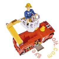 Simba Sam, a tűzoltó - Mega Deluxe Jupiter tűzoltóautó 2 figurával