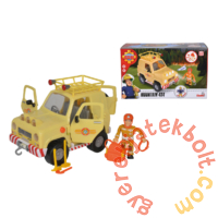 Sam, a tűzoltó - Tom 4x4 terepjáró autó figurával