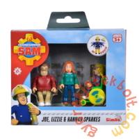 Simba Sam, a tűzoltó figuraszett - A Sparkes család (1080)