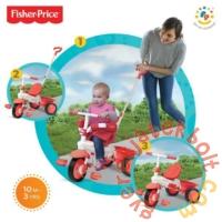 Smart Trike Fisher-Price Classic tricikli - piros (1460333)