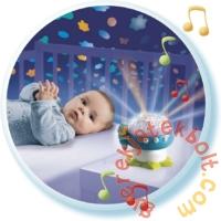 Cotoons zenélő gomba projektor - kék