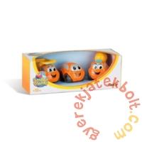 Smoby Vroom Planet 3 db-os műanyag kisautó szett - Munkagépek (120201)