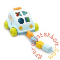 Smoby Cotoons Formaillesztő autó - kék (211118)