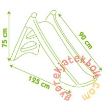 Smoby XS csúszda lányoknak (310282)