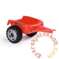 Smoby Farmer XL Traktor utánfutóval - piros (710108)