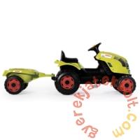 Smoby Claas Pedálos traktor utánfutóval (710114)