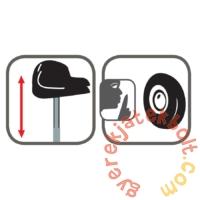 Smoby Balance Comfort Futóbicikli - piros (770122)