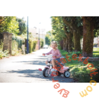 Smoby Baby Balade Plus tricikli napellenzővel - Pink