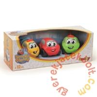 Smoby Vroom Planet 3 db-os műanyag kisautó szett - Járművek