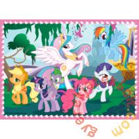 Trefl 4 az 1-ben puzzle (35,48,54,70 db-os) - My Little Pony (34153)