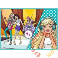 Trefl 4 az 1-ben puzzle (35,48,54,70 db-os) - Barbie (34301)