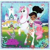 Trefl 3 az 1-ben puzzle (20,36,50 db-os) - Nella, a hercegnő lovag (34835)