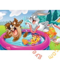 Trefl 24 db-os Maxi puzzle - Looney Tunes - Pancsolás a kertben (14238)