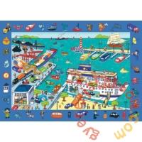 Trefl 70 db-os puzzle - Keresd a képet - A kikötőben (15536)