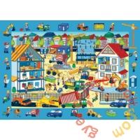 Trefl 70 db-os puzzle - Keresd a képet - Az építkezésen (15538)