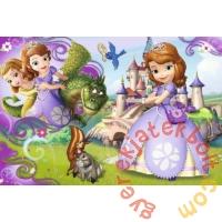 Trefl 60 db-os puzzle - Szófia Hercegnő - Szófia és kis barátai (17313)