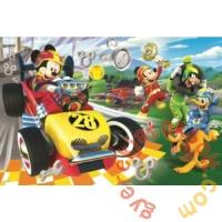 Trefl 60 db-os puzzle - Mickey egér és barátai - Autóversenyen (17322)