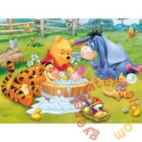 Trefl 30 db-os puzzle - Micimackó és barátai - Malacka fürdőt vesz (18198)