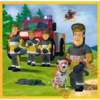 Trefl 3 az 1-ben puzzle (20,36,50 db-os) - Sam, a tűzoltó és csapata akcióban (34844)