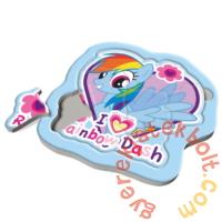 Trefl Baby Fun Első puzzle 8 db-os - Rainbow dash (36118)