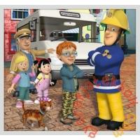 Trefl 10 az 1-ben puzzle (20,35,48 db-os) - Sam, a tűzoltó - Sam mentőcsapata (90356)