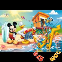 Trefl 60 db-os puzzle - Mickey Mouse - Egy érdekes nap Mickey és a barátai számára (17359)