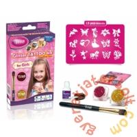 TyToo - Kislányos Csillámtetoválás mini szett (500013)