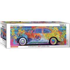 EuroGraphics 1000 db-os Panoráma puzzle -VW Beetle Splash (6010-5441)