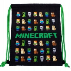 Minecraft tornazsák - Multi Character Black