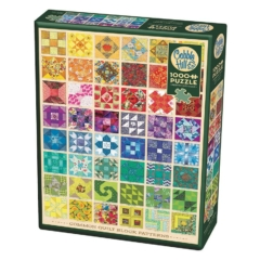 Cobble Hill 1000 db-os puzzle - Common Quilt Blocks (80237)