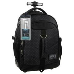 BackUp görgős iskolatáska, hátizsák - Pöttyös (PLB1K28)