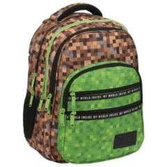 BackUp iskolatáska, hátizsák - 4 rekeszes - Game (PLB3M68)
