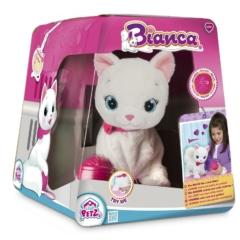 Bianca cica interaktív plüss figura (IMC095847)