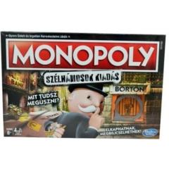 Hasbro - Monopoly Szélhámosok társasjáték (E1871)