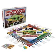 Hasbro - Monopoly Star Wars - The Mandalorian - Baby Yoda társasjáték (F2013165)